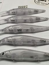 20 unpainted Ito Vision 110 Plus 1 blank lure USA Shipper Megabass With Eyes