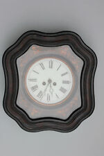 Schwarzwälder Rahmenuhr Wanduhr mit Federzugwerk, 19.Jahrhundert