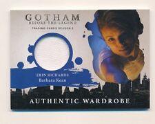 2017 Gotham Season 2 Barbara Keen (Erin Richards) Wardrobe Costume Card M26  (E)