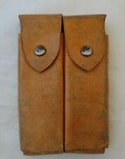 Colt 1911 Dutch Double Leather Magazine Pouch