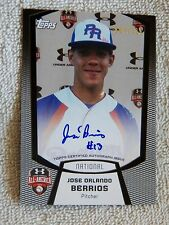 Minnesota Twins Jose Berrios 2011 Bowman Under Armour All-American Auto #054/225