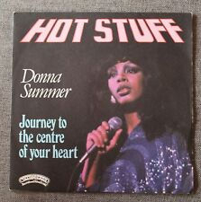 Donna Summer, hot stuff / journey to the centre of your heart, SP - 45 tours