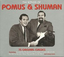 THE SONGS OF POMUS & SHUMAN - 3 CD BOX SET - SWEETS FOR MY SWEET & MORE