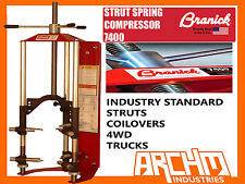 BRANICK 7600 STRUT / COIL SPRING COMPRESSOR TRADE/WORKSHOP TOOLS 4WD/COILOVER