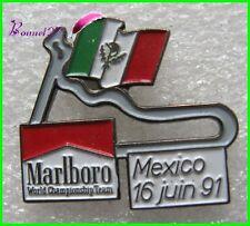 Pin's Circuit course de Formule 1 F1 Marlboro Mexico Mexique 91 #H2
