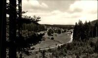 Königsfeld Schwarzwald AK 1968 gelaufen Blick ins Hörnlebachtal mit Burgberg