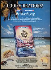 The BEACH BOYS: An American Band__Original 1985 video Print AD / promo advert