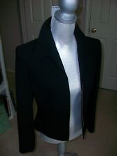 Women's Ellen Tracey Black jacket Mint with broken zipper but MINT