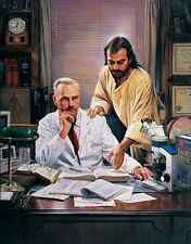 Nathan Greene - THE DIFFICULT CASE - Jesus & Physician 24x31 S/N fine art print