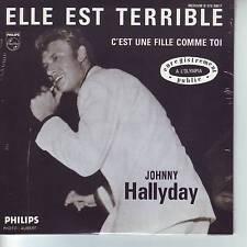 CD 2 titres JOHNNY HALLYDAY n°66 ELLE EST TERRIBLE ** C'EST UNE FILLE COMME TOI