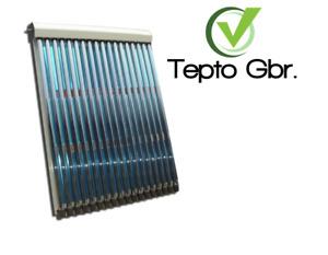 Sunpower Solaire Röhrenkollektor 12 Grondement Solarthermie Installation 2,0m ²