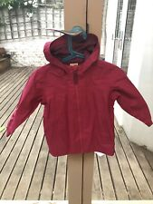 Quechua Waterproof Jacket Girls Age 3 - Pink