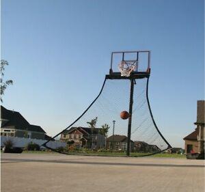 Basketball Training Ball Return Rebound Net Black Nylon Sports Accessories New