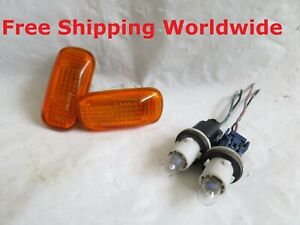 Genuine STANLEY Honda Integra DC5 Civic Type R JDM OEM Amber Side Marker Lights