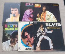 Elvis Presley LP Lot of 6 Raised On Rock-Almost In Love-Paradise,Hawaiian Style