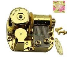GOLD Wind Up Musical Movements Parts DIY Music Box : LA VIE EN ROSE