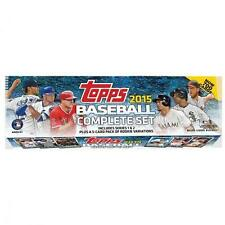 2015 Topps Baseball Retail Factory set 700 cards plus 5 card Rookie Pack