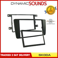 CT24SK09 Car Stereo Double Din Fascia Panel Adaptor For Skoda Octavia Yeti Scout