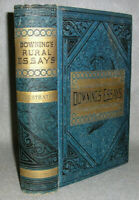 Antique Book Landscaping Gardening Horticulture Farm Downing's Rural Essays 1881