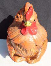 Vintage Twin Winton? Hen Rooster Chicken Kitchen Cookie Jar (California) 1127