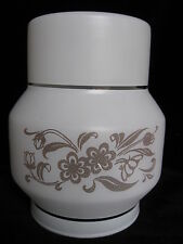 Retro Glass Lampshade - white wall light cylinder shade lamp 1980's 1970's mink