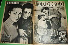 L'Européen 1954 Franca Valeri + Jolanda Bergame + Caso Maldonado + Flora Volpini