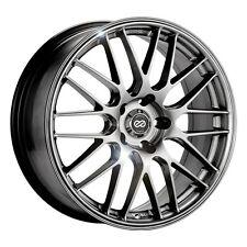 "17"" Enkei EKM3 Wheel Rim - Hyper Silver 17x7 5x100 +45 442-770-8045HS"