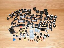 Mixed Genuine LEGO Vehicle Accessory Lot - Tire Gear Shift Steering Wheel *READ*