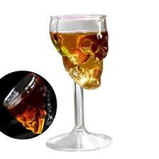 Bones Armor Warrior Skull Design High Wine Glass Goblet Cup Drinkware Halloween