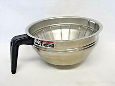 Bunn Stainless Steel Coffee Filter Funnel Brew Basket 7 58