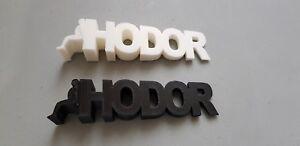 Hodor  (Games Of Thrones)! Door Wedge Door stops