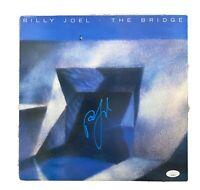 Bill Joel Autographed Signed LP The Bridge. JSA Authenticated