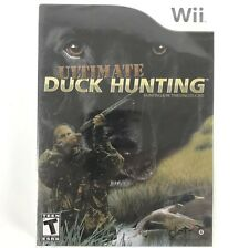 Ultimate Duck Hunting Nintendo Wii Sealed Multiplayer Hunt Shooter Role Playing