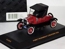 FORD T RUNABOUT 2 SEATERS 1926 CLOSED IXO CLC013 1:43