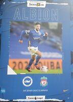 Brighton v Liverpool Premier League Programme 28/11/2020 IMMEDIATE DISPATCH!