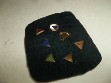 7 Vtg IAM Machinists Years of Service Enameled Pins