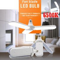 45W Garaje Bombillas LED E27 Lámparas de techo Taller Trilights Deformable 6500K