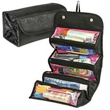 Wash Bag Toiletry Toiletries Travel Make Up Cosmetic Ladies Hanging Folding NEW