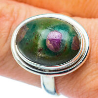 Ruby Fuchsite 925 Sterling Silver Ring Size 9 Ana Co Jewelry R36025F