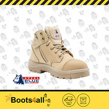 Steel Blue 312658 Parkes Sand Zipsider Safety Boots