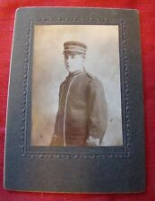 Vintage - Cabinet Photograph - Band Member - Decatur Illinois - Ernest Harkness