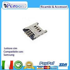TRAY SLOT MICRO SIM CARD SCHEDA PER Samsung C3322 c3530 c3750 e2600 e2652