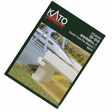 NEW Kato N Scale Set Double Track Pier Poured Concrete 23-019