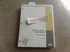 CASE 590 Super L Loader Backhoe Parts Catalog Manual 7-3361