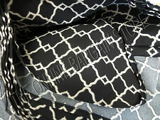 Ballard Designs Umbrella Replacement Canopy Cover Patio 11' Arden Black Outdoor