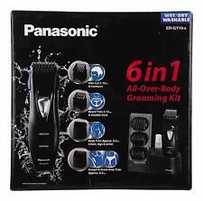 Panasonic ER-GY10K 6-in-1 Men's Body Grooming Kit Trimmer Wet & Dry Washable