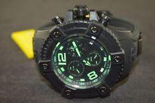 Invicta Reserve Chronograph Black Polyurethane Men's Watch 17293
