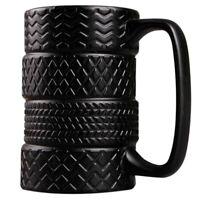 400Ml Creative Tire Mug Large Capacity Ceramic Mug Personality Tea Coffee C P9A4
