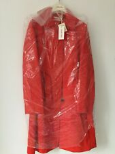 See By Chloe - £999 - Red Trench Coat - New with tag - Size - IT 46 - UK - 16