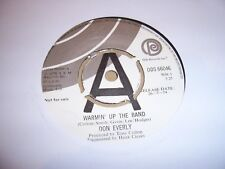DON EVERLY Warmin' Up The Band ODE RECORDS 1974 UK DEMO EXCELLENT *FREE POST*